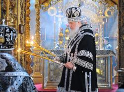2 марта Патриарх Московский и всея Руси Кирилл совершит Божественную Литургию в Троице-Сергиевой Лавре